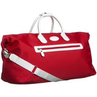 Brics Pronto 22-inch Red/ White Carry On Cargo Duffel Bag