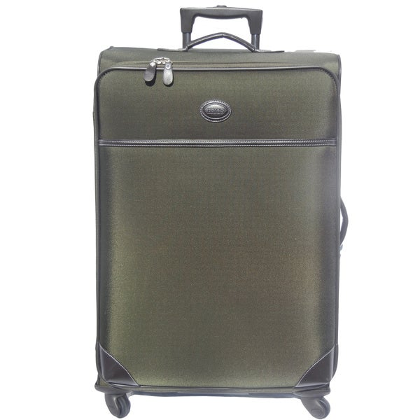 Brics Pronto 25-inch Olive Spinner Upright Suitcase