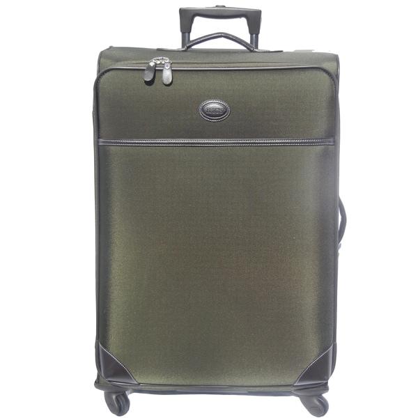 Brics Pronto 25-inch Olive Spinner Upright Suitcase