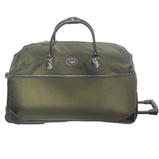 Brics Pronto 28-inch Olive Rolling Duffel Bag