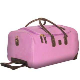 Brics Wisteria 21-inch Carry On Rolling Duffel