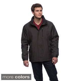 Izod Men's Water Resistant Windbreaker with Polar Fleece Lining