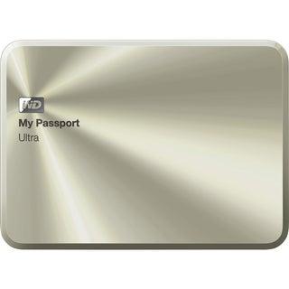WD My Passport Ultra WDBTYH0010BCG-NESN 1 TB External Hard Drive