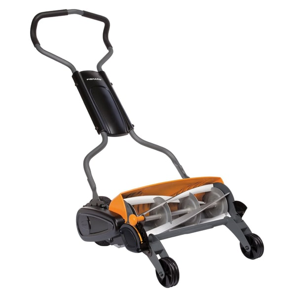 Fiskars StaySharp Max 18-inch Ergonomic Reel Mower