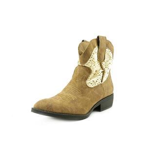 Madden Girl Women's 'Fresno' Fabric Boots (Size 6 )