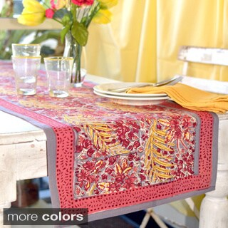 Couleur Nature Bougainvillea Table Runner