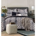 Tribeca Living Kenya 5-piece Snake Printed Egyptian Cotton Duvet Cover Set