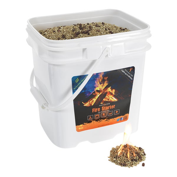 Insta-Fire 4-gallon Bucket Fire Starter
