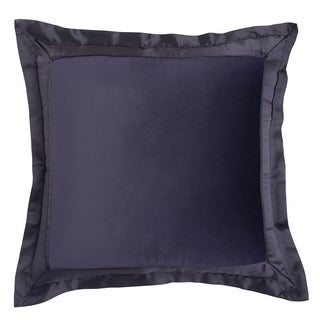 Modern Living Tivoli Velvet and Satin European Square Sham