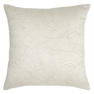 Modern Living Oxidized Leaf Quilted Euro Sham