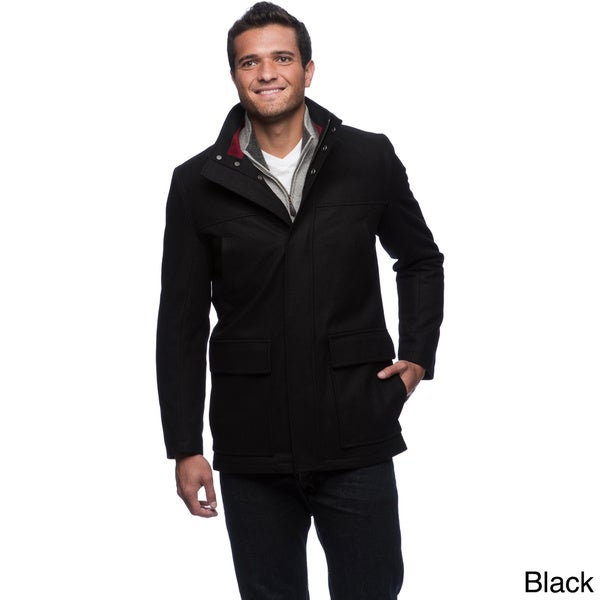 Izod Men's Wool Blend Coat