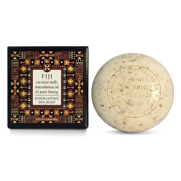 Greenwich Bay Trading Co. Coconut Milk, Macadamia Oil & Pure Honey Exfoliating Spa Soap (Set of 2)