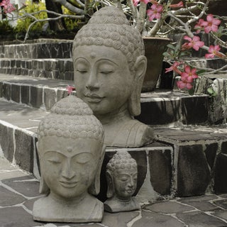 Volcanic Ash Sovereign Buddha Statue (Indonesia)