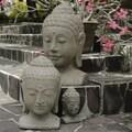Volcanic Ash Sovereign Buddha Statue (Indonesia)