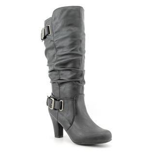 Madden Girl Women's 'Poche' Faux Leather Boots (Size 10 )