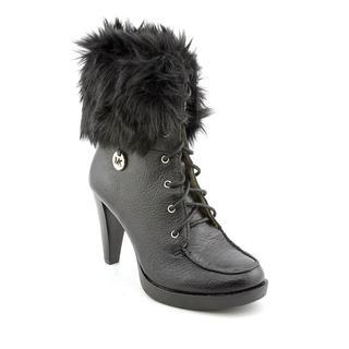 Michael Kors Women's 'Lara Bootie' Leather Boots (Size 5.5 )