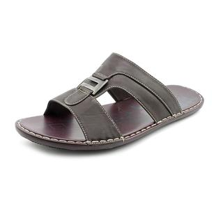 Famous Name Brand Men's '7670-8' Man-Made Sandals