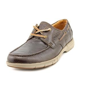 Clarks Men's 'Unnautical Sea ' Leather Casual Shoes