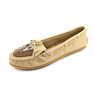 Minnetonka Women's 'Beaded Kilty' Leather Casual Shoes