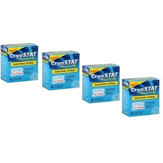 Cryostat Hemorrhoid Relief Cold Therapy (Pack of 4)