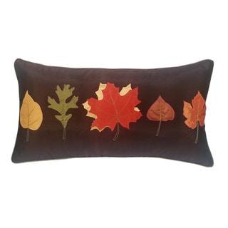 EDIE Autumn Leaves 14x26-inch Pillow