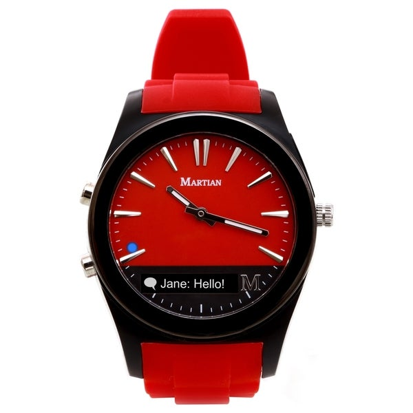 Martian Martian Notifier Red