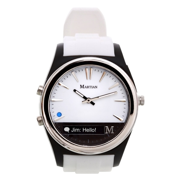 Martian Martian Notifier White