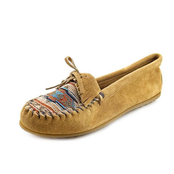 Minnetonka Women's 'El Paso II' Regular Suede Casual Shoes