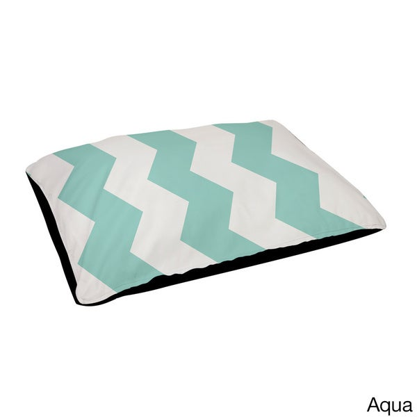 30 x 40-inch Indoor Large Chevron Stripe Dog Bed