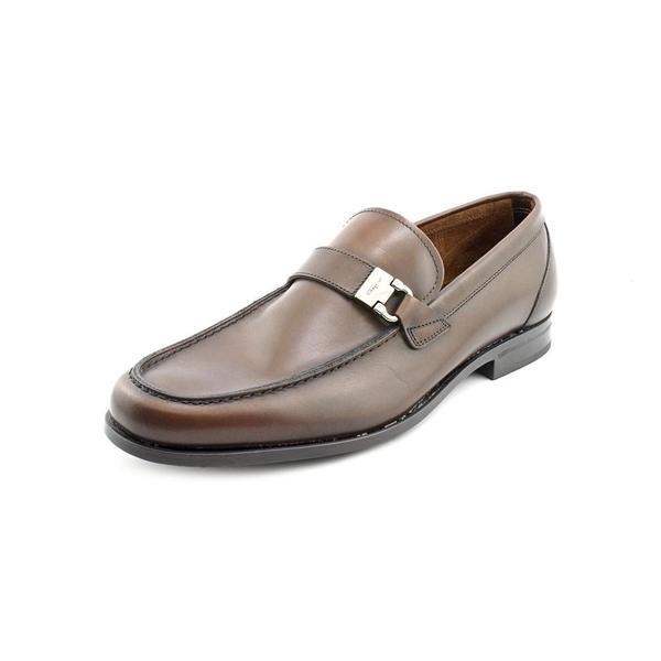 salvatore ferragamo s tazio leather dress shoes