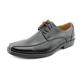 Famous Name Brand Men's 'AD72818 ' Man-Made Dress Shoes