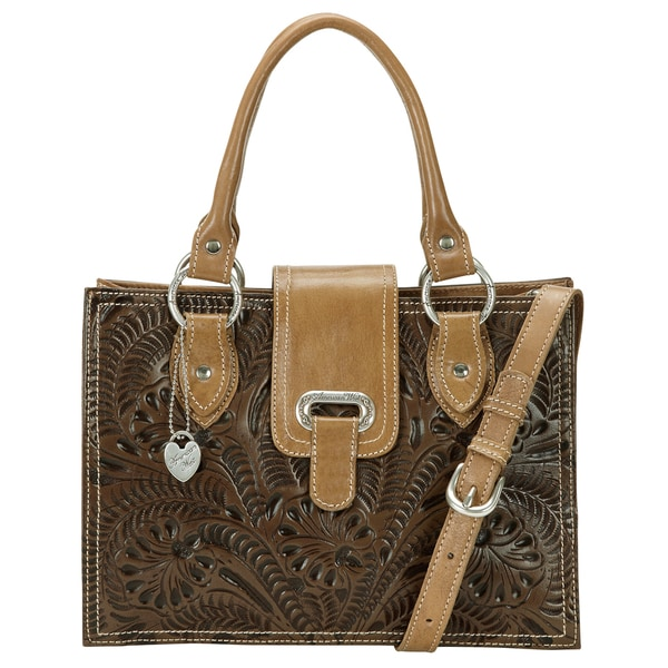 American West Earth Brown/ Tan Tote Bag