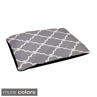 28 x 48-inch Outdoor Geometric Dog Bed