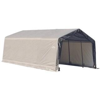Shelterlogic Outdoor Garage Vehicle Storage Shed