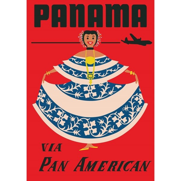 Marmont Hill Art Collective 'Panama' Fine Art Canvas Print