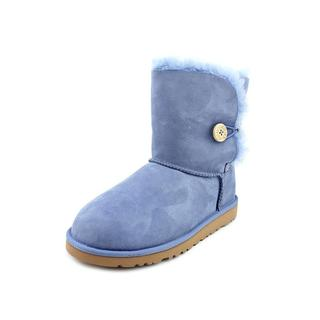 Ugg Australia Girl (Youth) 'Bailey Button K' Regular Suede Boots