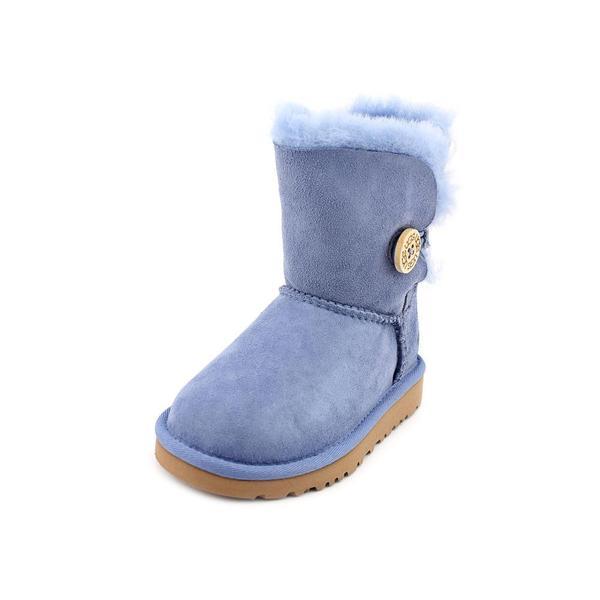 Ugg Australia Girl (Toddler) 'Bailey Button Toddler' Regular Suede Boots