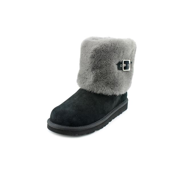 Ugg Australia Girl (Youth) 'Ellee' Lambskin Boots (Size 3 )