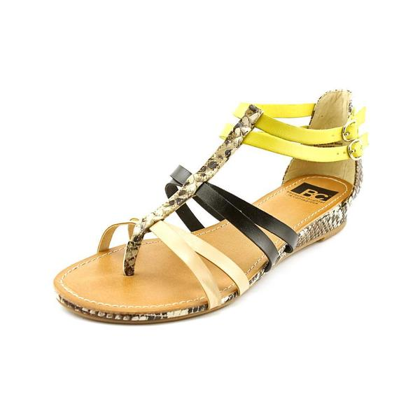 BC Footwear Women's 'Undeniable' Leather Sandals