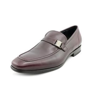 Salvatore Ferragamo Men's 'Svezia' Leather Dress Shoes (Size 10.5 )