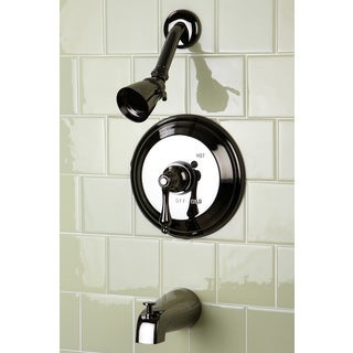 Black Nickel Pressure Balanced Tub and Shower Faucet