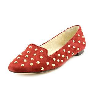 Michael Kors Women's 'Ailee Studded Flat' Regular Suede Dress Shoes