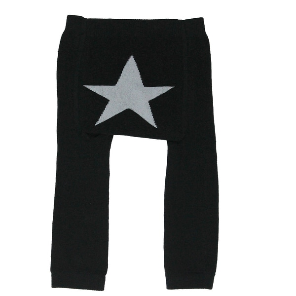 Silly Souls 'Star' Black Leggings (0-12 Months)