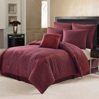 Nicole Miller Block Print Paisley 7-piece Comforter Set