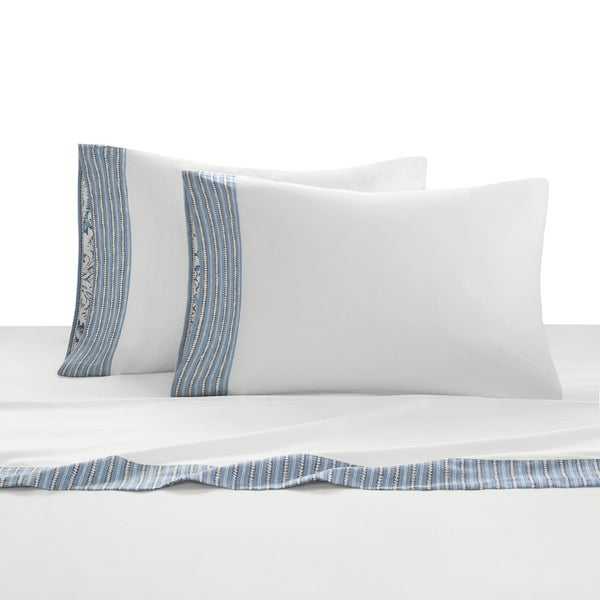 Echo Design Kamala Cotton Sateen Sheet Set