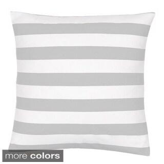 Stripe 18-inch Decorative Pillow Cover