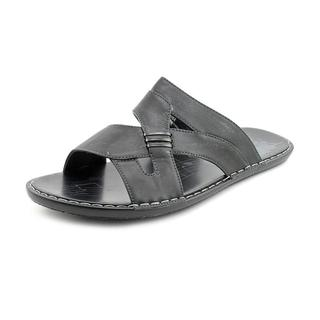 Famous Name Brand Men's '7670-2' Man-Made Sandals