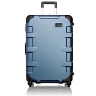 Tumi Cargo T-Tech 27-inch Medium Steel Blue Hardside Spinner Suitcase