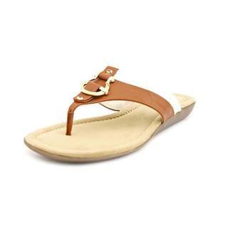 Bandolino Women's 'Janette' Faux Leather Sandals