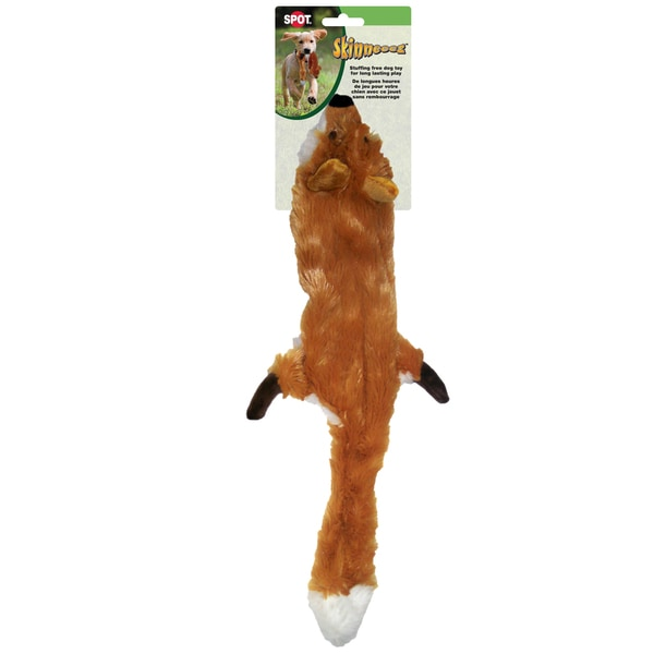"Skinneeez Stuffing Free Dog Toy 23""-Fox"
